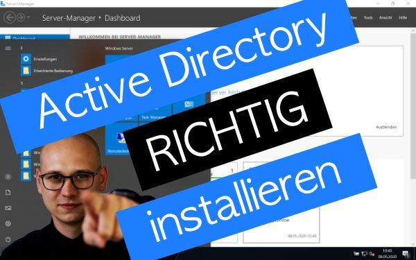 active directory installieren