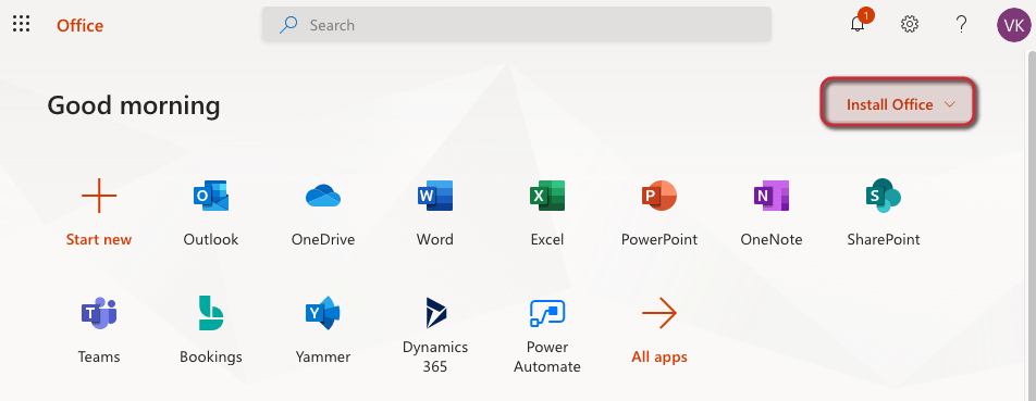 Outlook Anmeldung - Installation