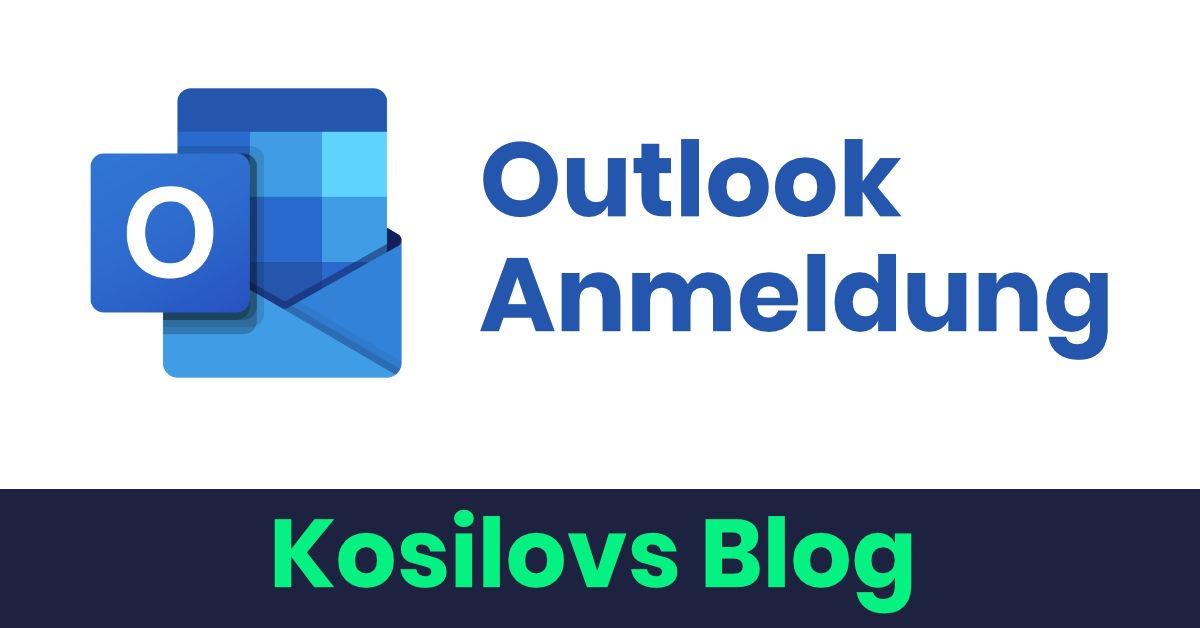 Outlook Anmeldung - Titelbild