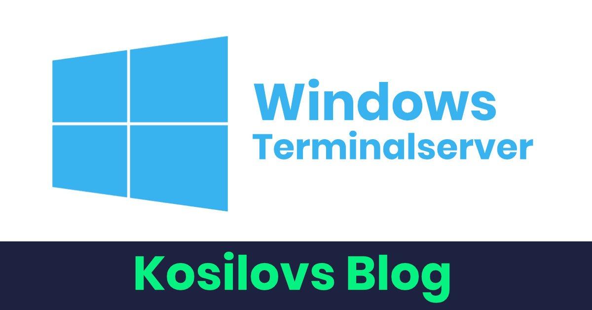 Windows Terminal Server - Titelbild
